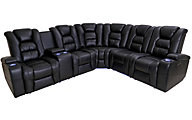 Synergy LaRue 3-Piece Power Reclining Sectional