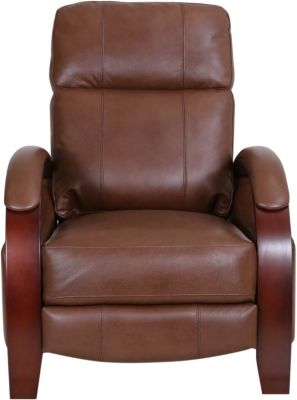 Synergy 1257 Collection Brown Leather Recliner