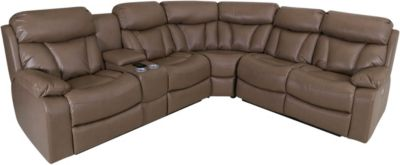 Synergy Larue 3-Piece Power Headrest Sectional