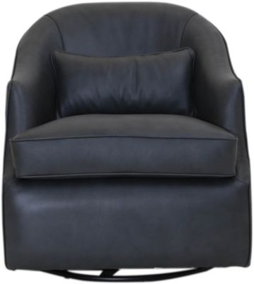 Synergy 1737 Collection Leather Swivel Chair
