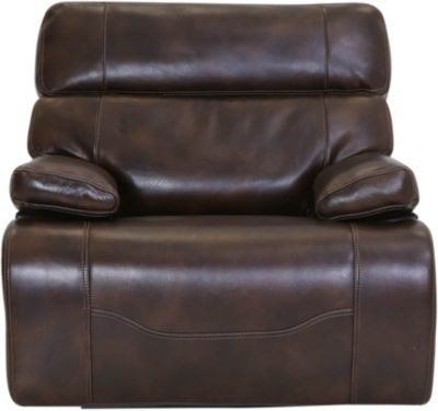 Synergy Prescott Leather Power Headrest Lumbar Recliner