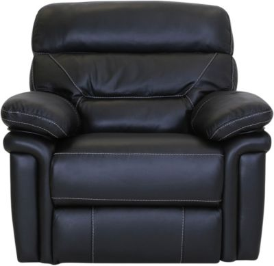 Synergy Seville Leather Power Headrest Lumbar Recliner