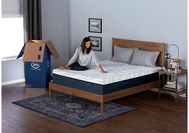 Serta Perfect Sleeper Bed in a Box: Unpack