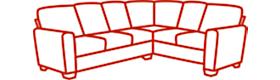 Stationary Sectional Sofa
