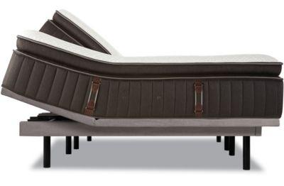 Couple enjoying a Stearns and Foster mattress set