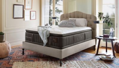 Stearns and Foster Luxury Bedroom