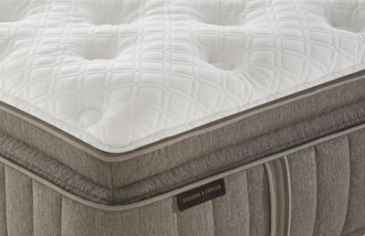 Stearns and Foster quilted mattress