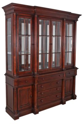 Thomasville Breakfront China Cabinet