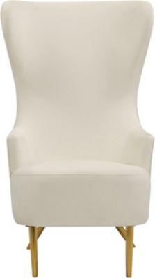 Tov Furniture Julia Cream Wingback Chair by Inspire Me!