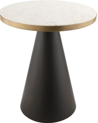 Tov Furniture Richard Marble Side Table