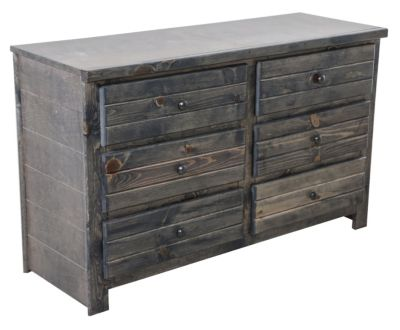 Trend Wood Bayview Rustic Gray Dresser Homemakers Furniture