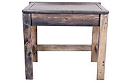 Trend Wood Rustic Gray Lift-Top Kids' Desk