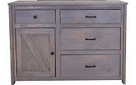 Trend Wood Urban Ranch Gray Kids' Dresser