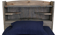 Trend Wood Driftwood Full Headboard