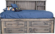 Trend Wood Bunkhouse Full Captain's Bed