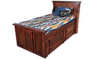 Trend Wood Sedona Full Storage Bed