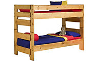 Trend Wood Bunkhouse Twin/Twin Bunk Bed