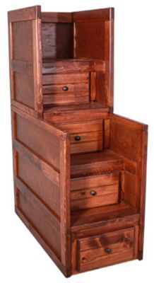 Trend Wood Sedona Stairway Chest