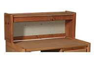 Trend Wood Bunkhouse Solid Pine Hutch Top Only