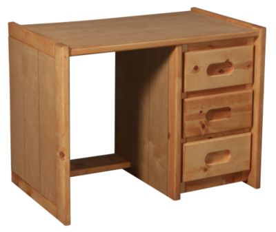Trend Wood Bunkhouse Solid Pine Desk