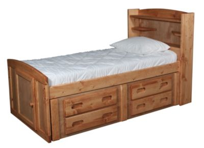 Trend Wood Bunkhouse Solid Pine Twin Bed