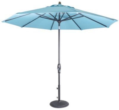 Treasure Garden 9-Foot Auto-Tilt Patio Umbrella