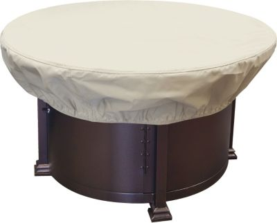 Treasure Garden Round Fire Pit Cover (36-42 inches)