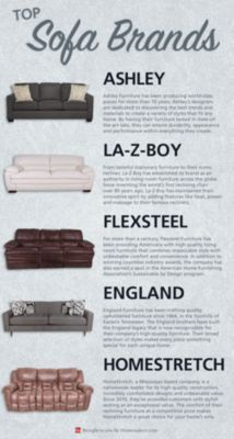 5 Most Por Sofa Brands