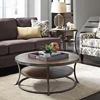 Transitional Ashley Nartina coffee table