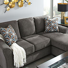 Transitional Chaise Sofa