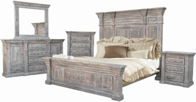 Urban Roads Wimberly 4-Piece King Bedroom Set