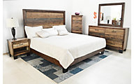 Urban Roads Victoria King Bedroom Set