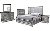Urban Roads Emma King Bedroom Set