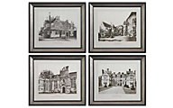 Uttermost English Cottage Wall Art (Set of 4)
