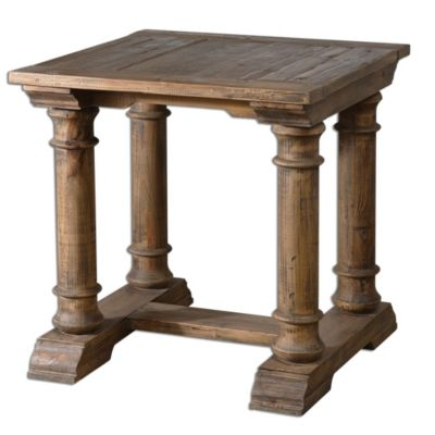 Uttermost Saturia End Table