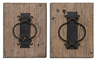 Uttermost Rustic Door Knockers (Set of 2)