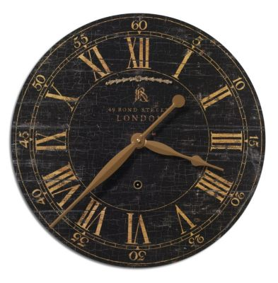 Uttermost Bond Street 18 Wall Clock