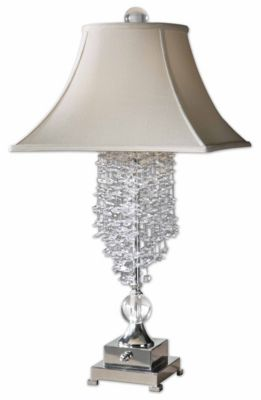 Uttermost Fascination Ii Silver Table Lamp