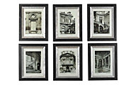 Uttermost Paris Framed Art (Set of 6)
