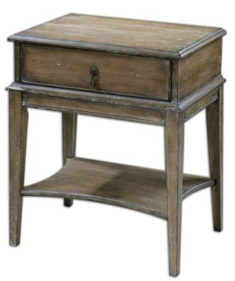 Uttermost Hanford Storage Accent Table