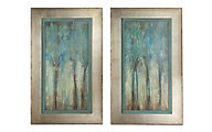 Uttermost Whispering Wind Wall Art (Set of 2)