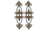 Uttermost Lacole Metal Wall Art (Set of 2)