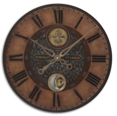 Uttermost Simpson Starkey Wall Clock