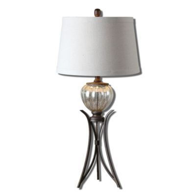 Uttermost Cebrario Mercury Glass Table Lamp