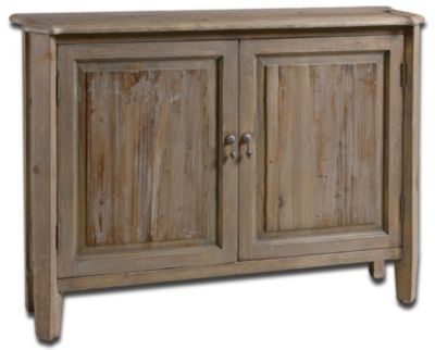 Uttermost Altair Console Cabinet