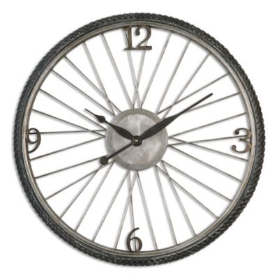 Uttermost Spokes Wall Clock