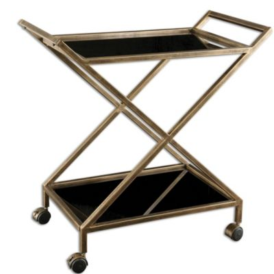 Uttermost Zafina Bar Cart