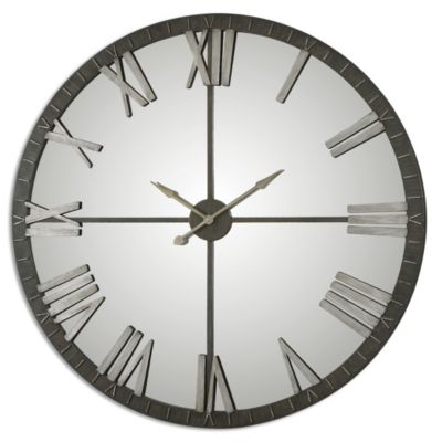 Uttermost Amelie Mirrored Wall Clock
