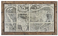 Uttermost Treasure Map Wall Art