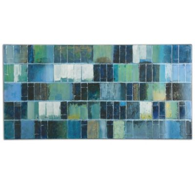 Uttermost Glass Tiles Wall Art